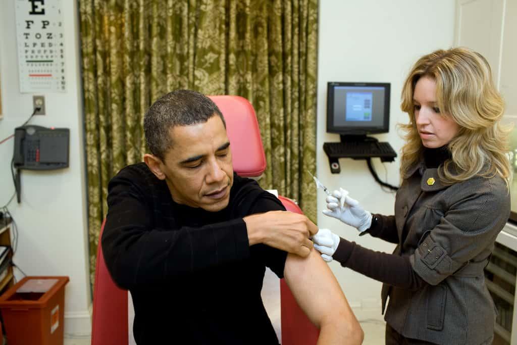 Obama H1N1 vaccine