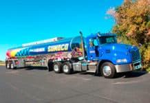 Sunoco Mack truck