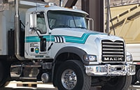 Mack Truck at Lakeview Rock Products